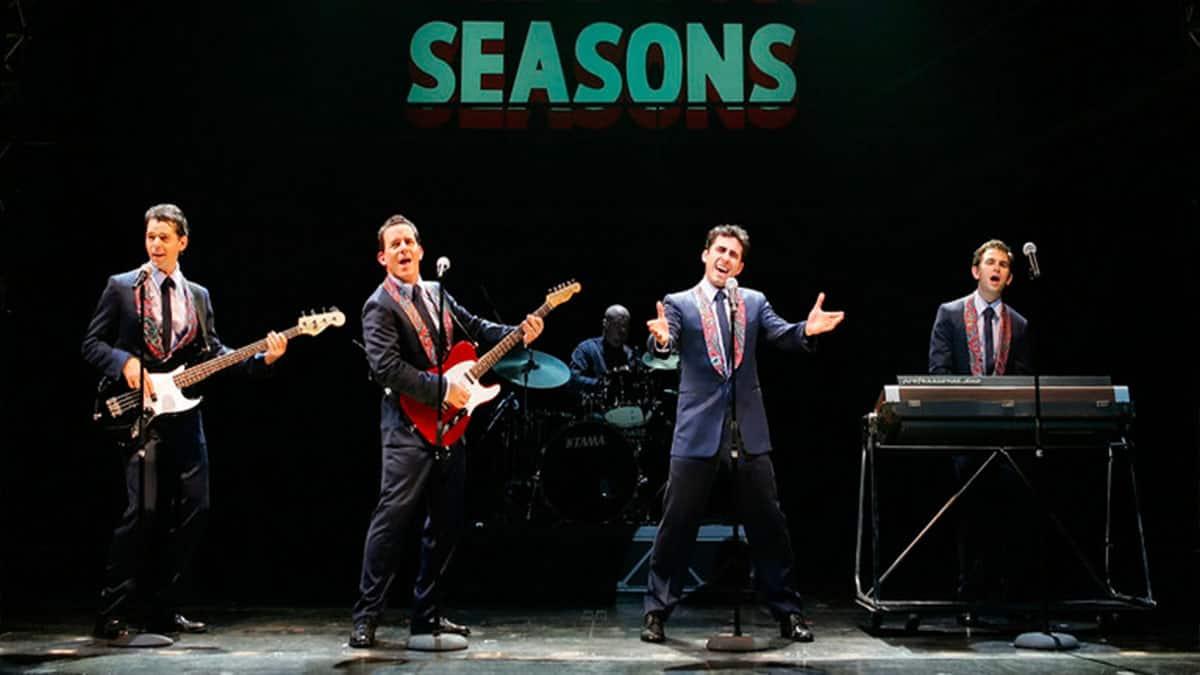 Jersey Boys off-Broadway